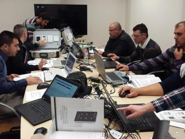 Training visit to Zennio - Spain