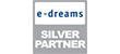 e dreams silv Footer Certificate